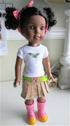 Sherry Duin verified customer review of Joy Skirt 14.5 Doll Clothes Pattern