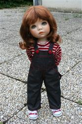 Sylvie B. verified customer review of Oh My Gosh Overalls 18 Doll Clothes