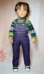 herran b. verified customer review of Oh My Gosh Overalls 18 Doll Clothes