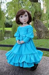 Inma verified customer review of Gigot Sleeve Dress for AGAT Dolls