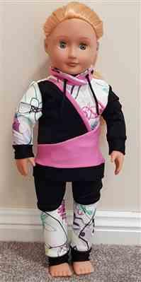 Kim Ryan verified customer review of Wild & Wacky Sweatsuit 18 Doll Clothes Pattern