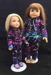 Angela B. verified customer review of Wild & Wacky Sweatsuit 18 Doll Clothes Pattern