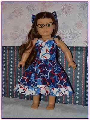 TracyAnn Bolton verified customer review of Serenade Maxi Dress 18 Doll Clothes Pattern