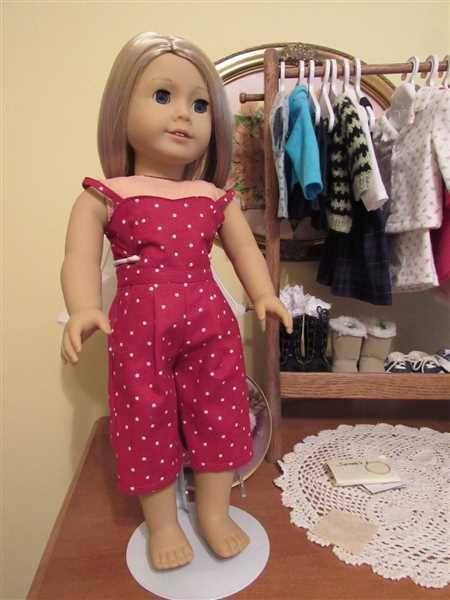 Pixie Faire Culotte Jumpsuit 18 Doll Clothes Pattern Review
