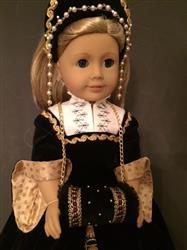 Sewbig verified customer review of Reversible Tudor Partlet 18 Doll Clothes Pattern