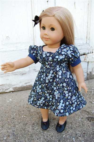 Pixie Faire Sleuth 1930s Dress 18 Doll Clothes Pattern Review