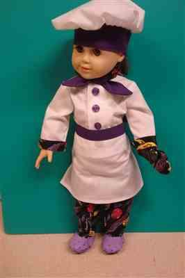 Stephanie Walter verified customer review of Chef's Uniform 18 Doll Clothes