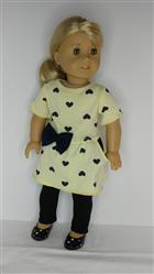 Carol Johns verified customer review of Drop Waist Pocket Tee Dress 18 Doll Clothes Pattern