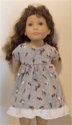 Marsha H. verified customer review of Babydoll Dress 18 Doll Clothes Pattern