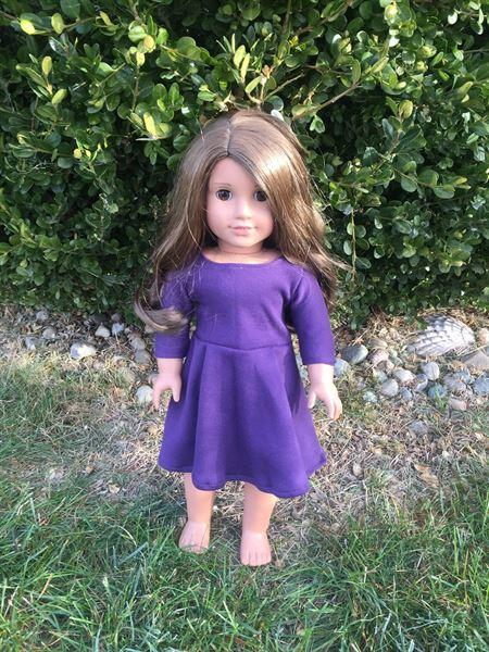 Morgan R verified customer review of Taylor Regatta Dress 18 Doll Clothes Pattern