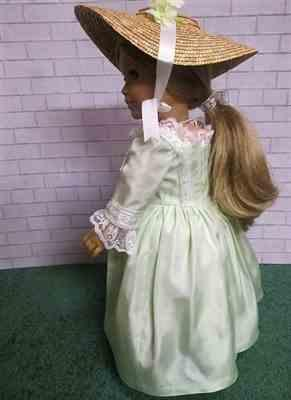 Carol M verified customer review of 1770 En Forreau' Gown 18 Dolls Clothes Pattern