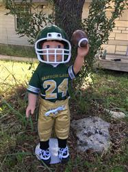CINDY STRAILEY verified customer review of Touchdown Football Uniform 18 Doll Clothes