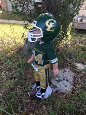 CINDY s. verified customer review of Touchdown Football Uniform 18 Doll Clothes