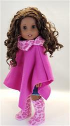 Tina Jones verified customer review of Poncho 18 Doll Clothes