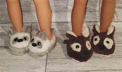 Pia verified customer review of Animal Slippers 18 Doll Shoes