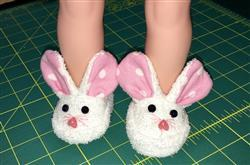 Cheryl C. verified customer review of Animal Slippers 18 Doll Shoes