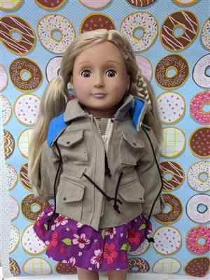Nikki Velazquez verified customer review of Jen's Military Jacket 18 Doll Clothes Pattern