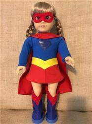 Sandra C. verified customer review of Superhero Outfit 18 Doll Clothes Pattern