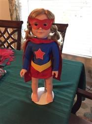 Diane R. verified customer review of Superhero Outfit 18 Doll Clothes Pattern