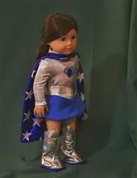 Barbara H. verified customer review of Superhero Outfit 18 Doll Clothes Pattern