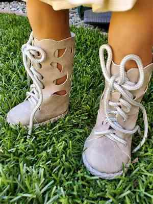 Pam Wilton verified customer review of Butterfly Boots 18 Doll Shoe Pattern