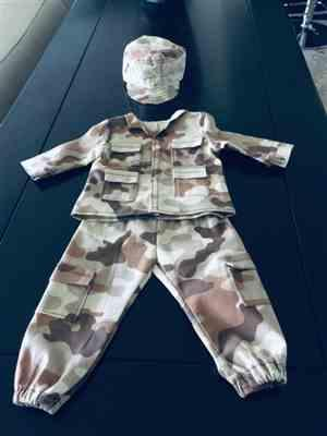 Anne Scarabelli verified customer review of Army Combat Uniform 18 Doll Clothes Pattern