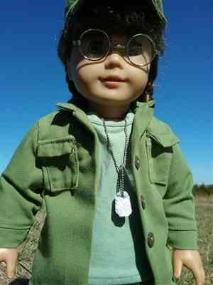 Zia verified customer review of Army Combat Uniform 18 Doll Clothes Pattern