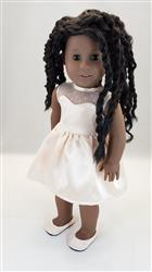 Tina Jones verified customer review of Blossom Dress 18 Doll Clothes Pattern
