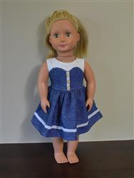Lsmuffins verified customer review of Blossom Dress 18 Doll Clothes Pattern
