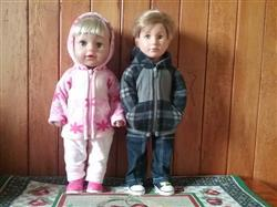 Jo verified customer review of Rough 'n' Tumble Hoodie 18 Doll Clothes