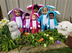 Judith P. verified customer review of Hoppity Easter Bunny Outift 18 Doll Clothes Pattern