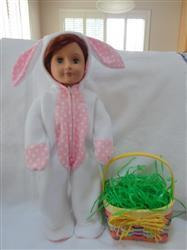 Carol M. verified customer review of Hoppity Easter Bunny Outift 18 Doll Clothes Pattern