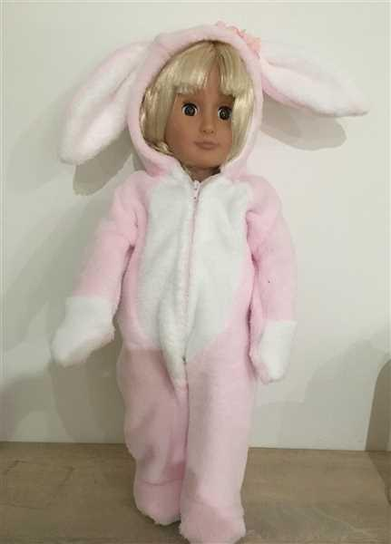 ANNE REYNOLDS verified customer review of Hoppity Easter Bunny Outift 18 Doll Clothes Pattern