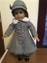 kay verified customer review of Classic Coat and Hat 18 Doll Clothes Pattern