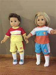 Becky F. verified customer review of Soccer Uniform 18 Doll Clothes Pattern