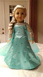 Carol Johns verified customer review of Winter Snow Queen Gown 18 Doll Clothes Pattern