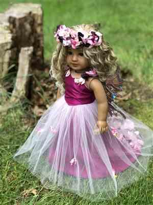 Kathi verified customer review of Winter Snow Queen Gown 18 Doll Clothes Pattern