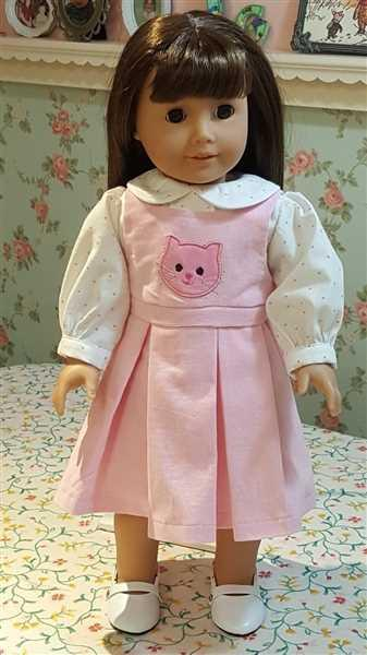 Jane Gerhart verified customer review of School Daze Jumper and Blouse 18 Doll Clothes Pattern