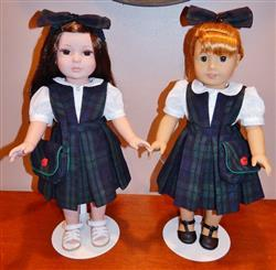 Marcy M. verified customer review of School Daze Jumper and Blouse 18 Doll Clothes Pattern