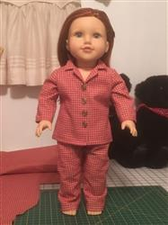 Anne N. verified customer review of Heartwarming Pajamas 18 Doll Clothes Pattern