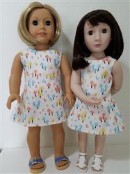 Marge R. verified customer review of Polka Dot Party Dress for AGAT Dolls