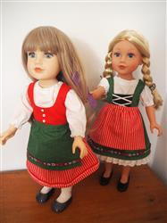 Linda L verified customer review of Dirndl 18 Doll Clothes Pattern