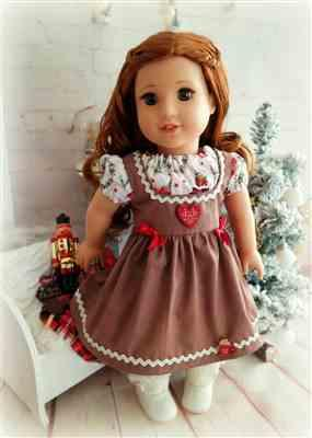 Alexandra  verified customer review of Dirndl 18 Doll Clothes Pattern
