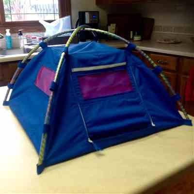 Sharon K. verified customer review of Happy Campers Dome Tent 18 Doll Accessory Pattern