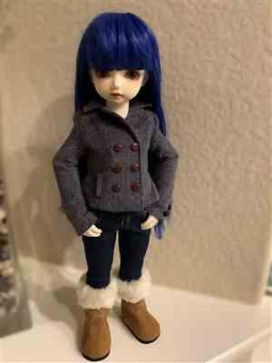 Alcexia verified customer review of Piccadilly Peacoat Pattern for BFC, Ink. Dolls