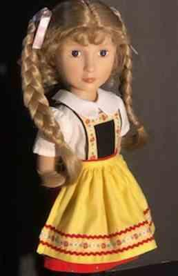 Sewbig verified customer review of Tyrol 16 Doll Clothes Pattern For A Girl For All Time Dolls