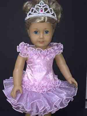 Sewbig verified customer review of Grand Supreme Pageant Shell 18 Doll Clothes Pattern