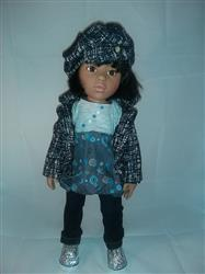 Olena K. verified customer review of High-Waisted Jeans 18 Doll Clothes Pattern