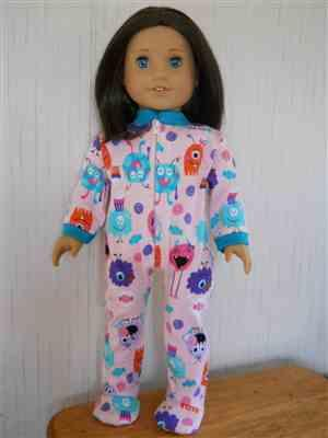 Diane B verified customer review of Footie Jammies 18 Doll Clothes