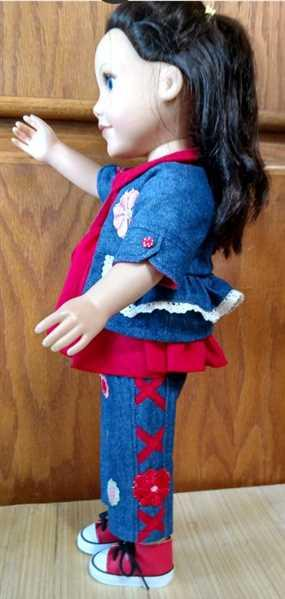 Pixie Faire Cherry Blossom 18 Doll Clothes Pattern Review